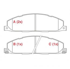 Pastilhas de Freio Dodge Ram 2500 (traseiras)