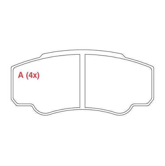 Pastilhas de Freio Traseiras Ducato / Jumper / Boxer