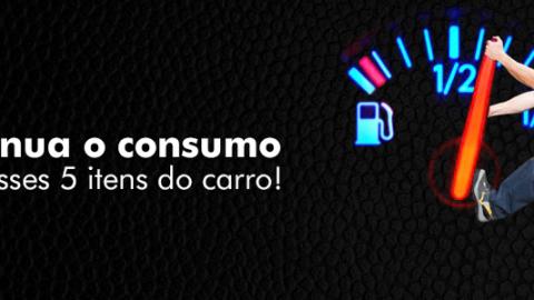 5 itens para diminuir o consumo de combustível
