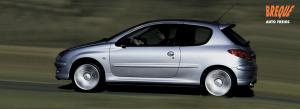 Pastilhas de freio Peugeot 206 - Discos de Freio Peugeot 206