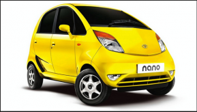 O carro mais barato do mundo foi fabricado na Índia