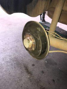 revisao das lonas de freio