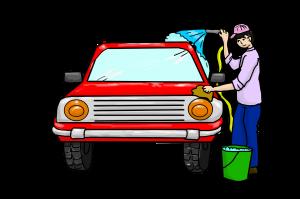como conservar a pintora do carro
