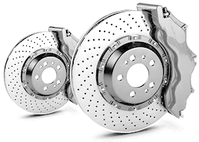 Troca dos discos de freio